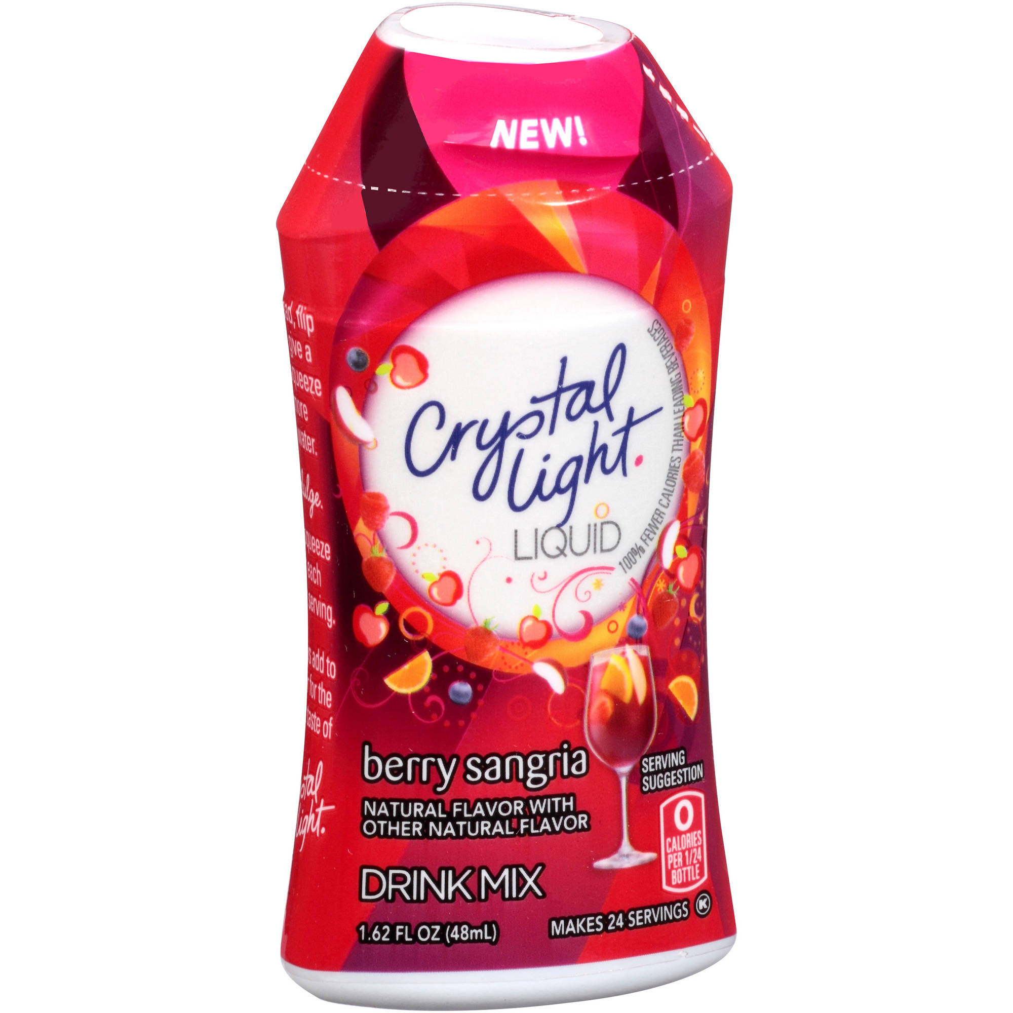 Crystal Light Liquid Berry Sangria Drink Mix, 1.62 fl oz