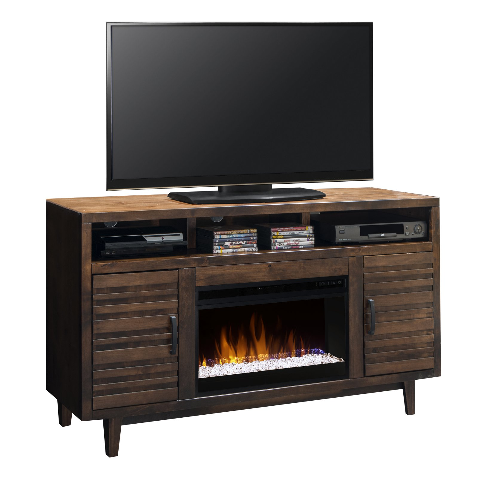 Legends Furniture Glendale 62 in. Electric Media Fireplace