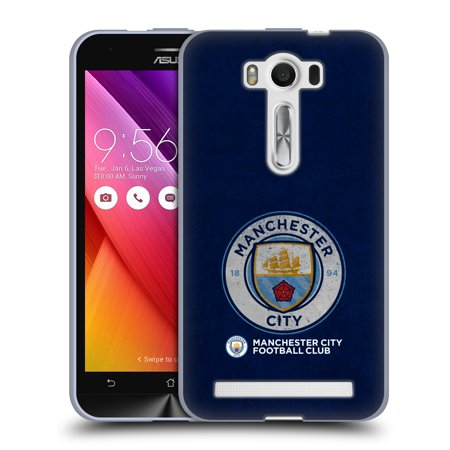OFFICIAL MANCHESTER CITY MAN CITY FC 2017/18 BADGE SOFT GEL CASE FOR ASUS ZENFONE PHONES