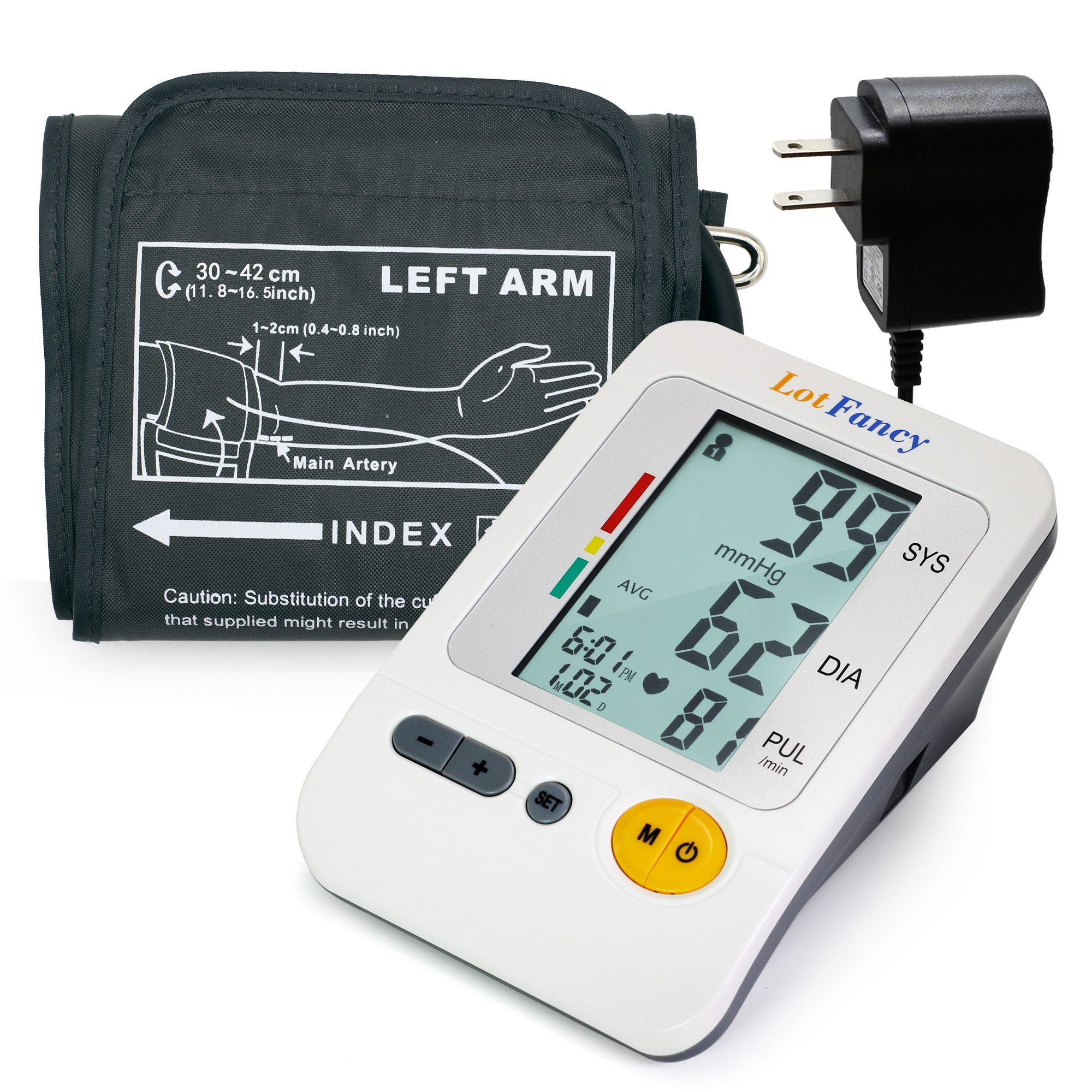 Best Blood Pressure Monitors Extra Large Cuffs - LotFancy Blood Pressure Monitor, Upper Arm Large Cuff Review