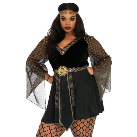 Leg Avenue Womens 2 PC Plus Size Glamazon Warrior Costume