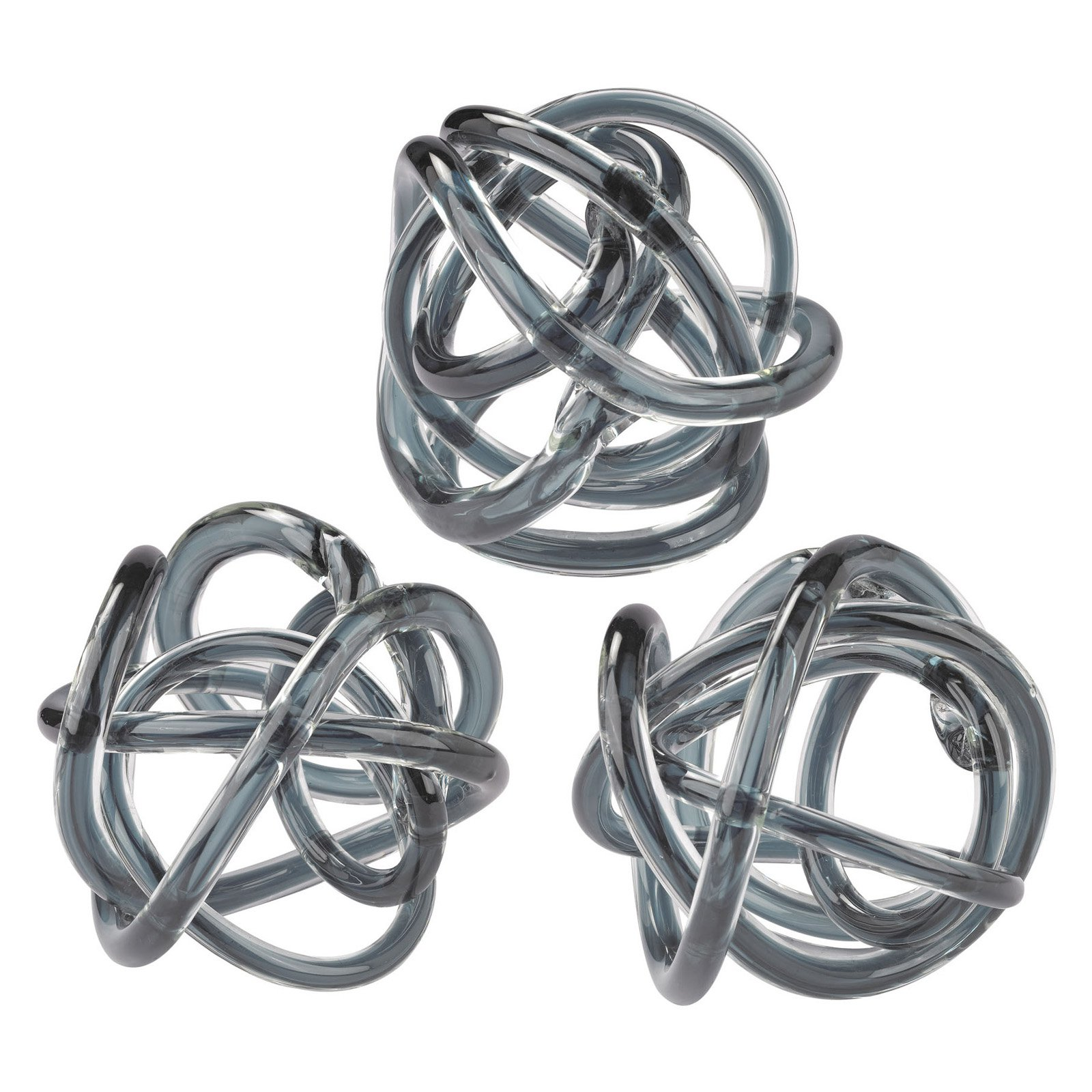 Dimond Home Glass Knot - Set of 3