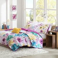 Home Essence Apartment Skye Floral Coverlet Bedding Set
