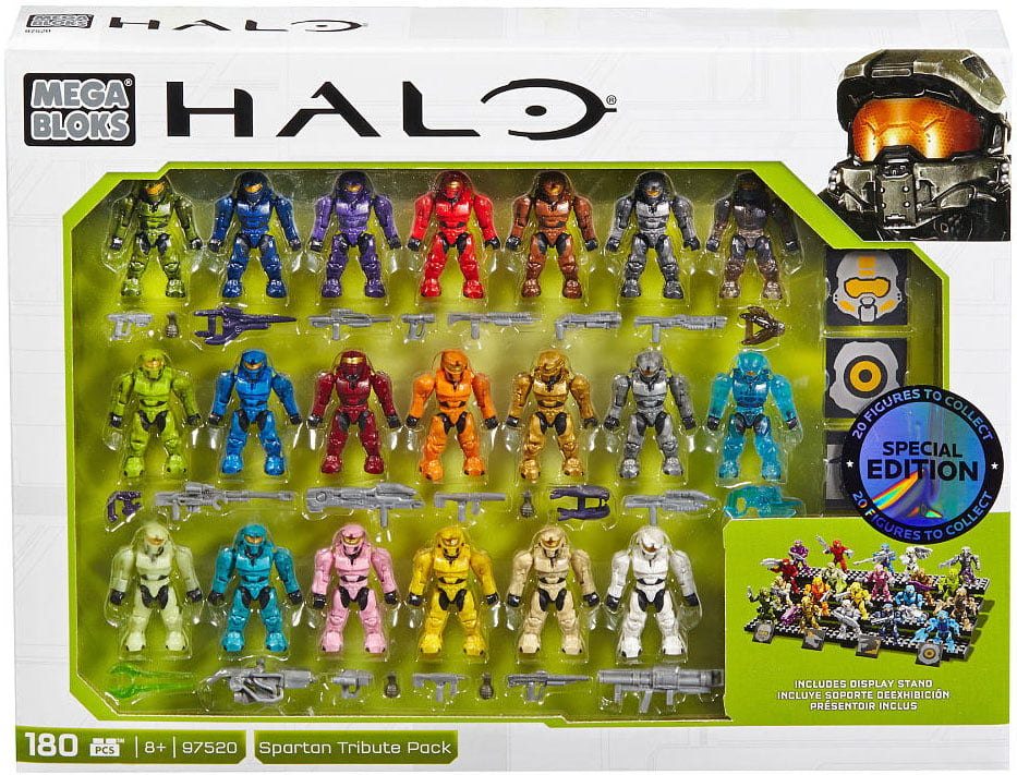 Mega Bloks Halo Spartan Tribute Pack Minifigure 20-Pack by Mega Brands