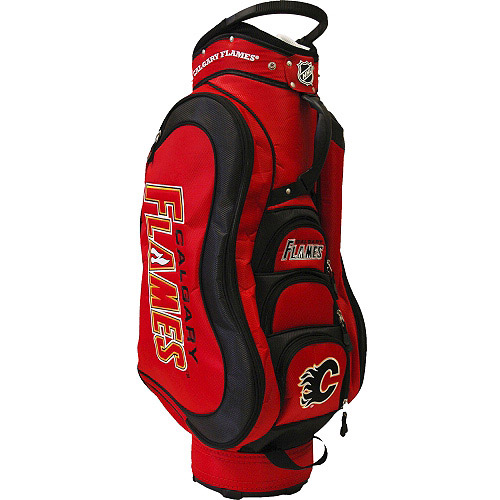 Team Golf NHL Calgary Flames Medalist Golf Cart Bag