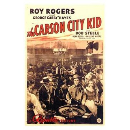 Posterazzi MOV142875 The Carson City Kid Movie Poster - 11 x 17 in. - image 1 of 1