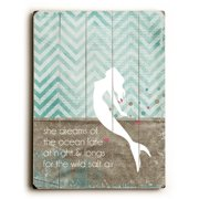 Artehouse LLC She Dreams Mermaid Wall D cor