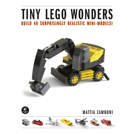 Tiny LEGO Wonders : Build 40 Surprisingly Realistic (Best Trailer To Build A Tiny House On)