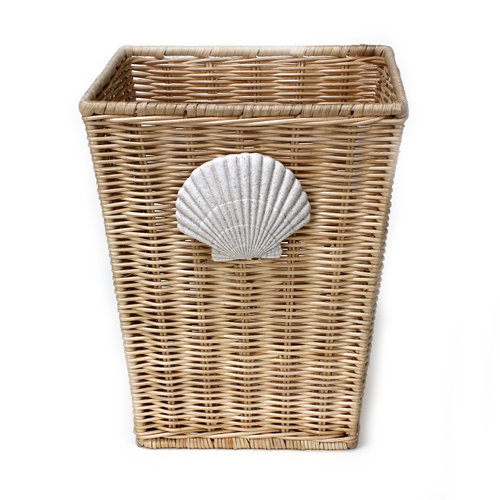 Better Homes and Gardens Coastal Wicker Wastecan