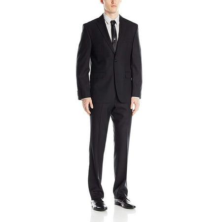 Business Suits Double Side Vent (Mens Modern Fit 2 Button Side Vent Suit)