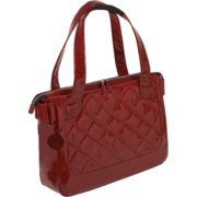 "Wib Van2 Notebook Case - Tote - Polyurethane - Scarlet Red Tote - 16.10"" Screen Support - 11.88"" X 16.50"" X 3.75"" - Women In Business"