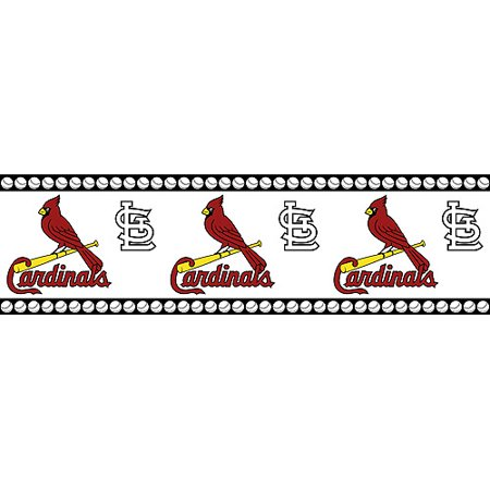 Major League Baseball St Louis Cardinals Wall Border