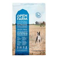Open Farm Grain-Free Whitefish & Green Lentil Recipe Dry Dog Food, 4.5 lb. Bag