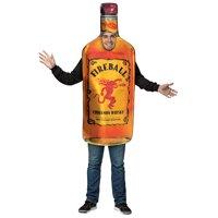 Fireball Bottle Men's Adult Halloween Costume, One Size, (40-46)