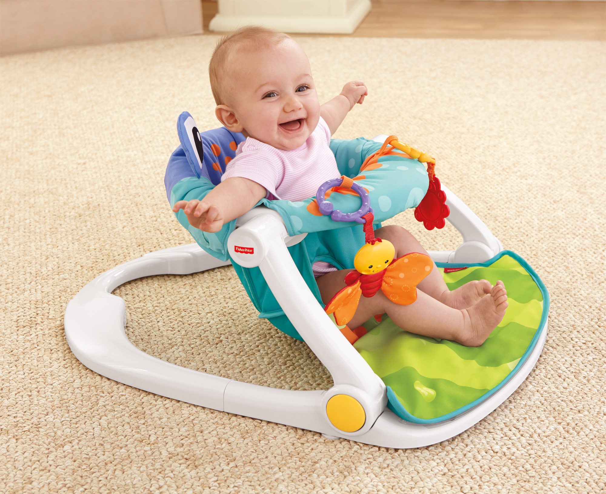 Fisher Price Sit Me Up Floor Seat Walmart