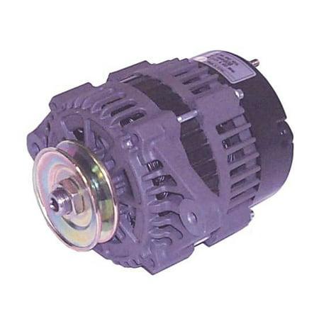 Sierra 18-6288 7SI/70A Spool Mount Alternator with Single Groove V-Belt Pulley Single Phase Alternator