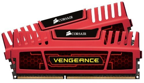 Corsair CMZ8GX3M2A21339C11R 8gb Kit 2x4gb 2133mhz Ddr3 Cl11mem Vengeance Red For Intel Amd Dual Ch