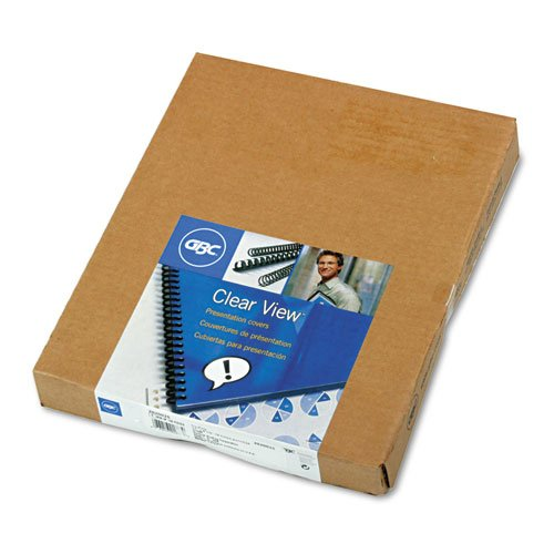 Wilson Jones. 2020025 Clear View Presentation Binding System Cover, 11 x 8-1 2, Clear, 100 Box by Wilson Jones