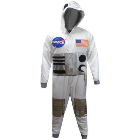 NASA Space Suit Be An Astronaut Onesie Pajamas - Mans Onesie