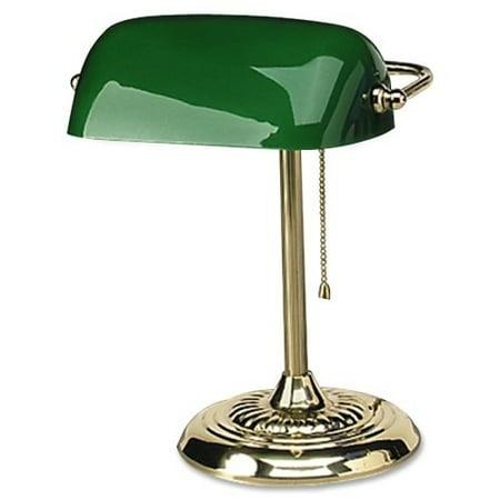 ledu l557br traditional banker's lamp, 14