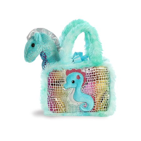 Seahorse Fancy Pals 6 inch - Stuffed Animal by Aurora Plush (32825) for $<!---->