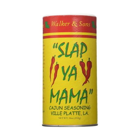 Seasoning Canister (Slap Ya Mama Original Blend Seasoning THREE 16-Ounce Canisters)