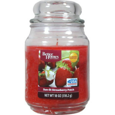 Better homes and gardens 18 oz sun lit strawberry patch candle Better homes and gardens diffuser