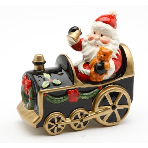 Cosmos Gifts Santa Train Salt and Pepper Set