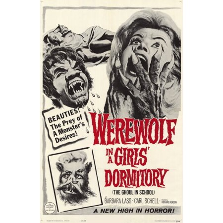 Werewolf in a Girls Dormitory POSTER Movie Mini Promo