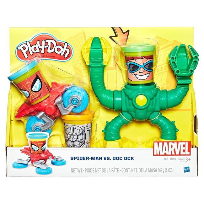 Hasbro HSBB9364 Play-Doh Marvel Spiderman Vs Doc Ock - Se...