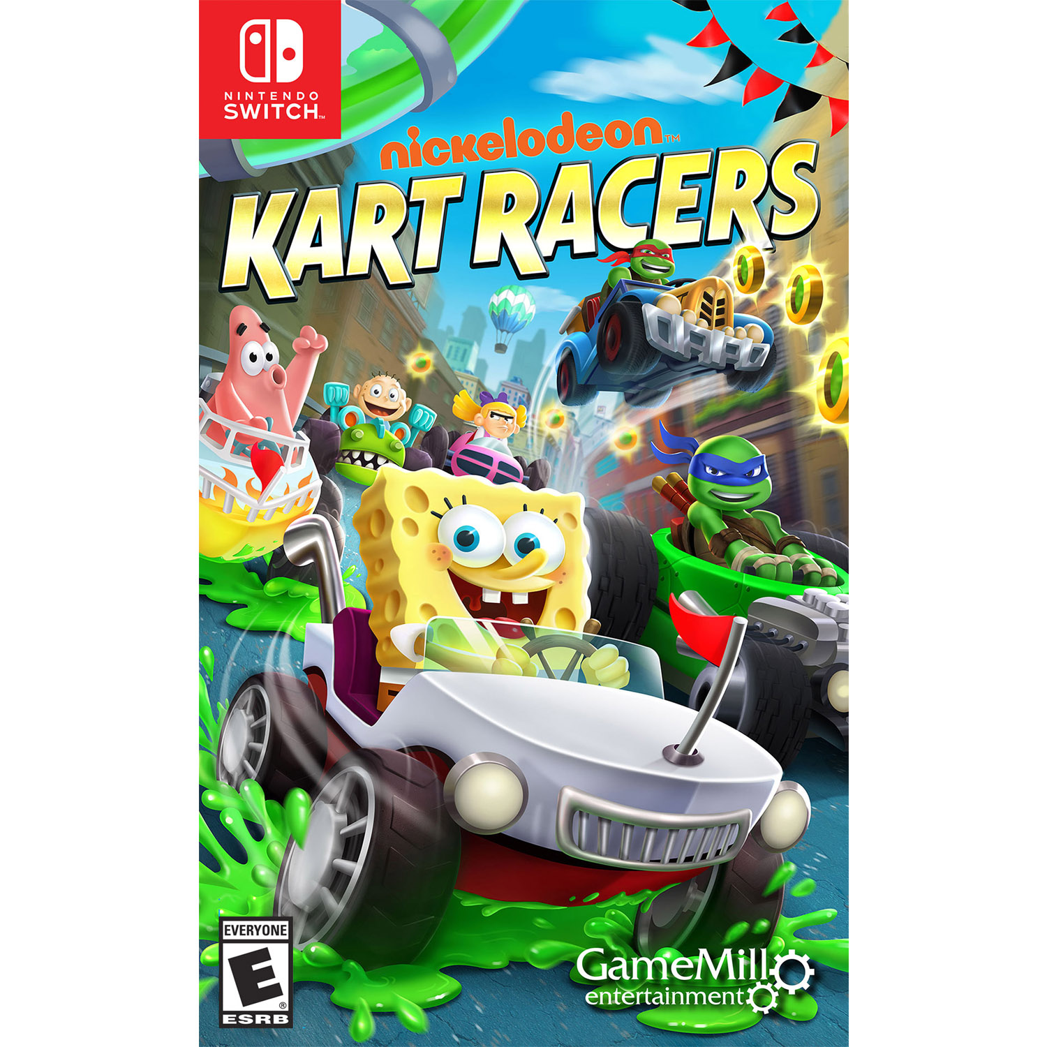 Nickelodeon Kart Racers, Gamemill, Nintendo Switch, 856131008084