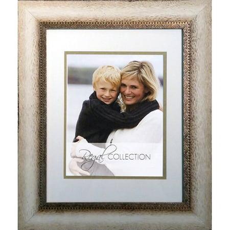 Timeless Frames Photo Frame - Fauna - Wood - Cream - 5 x 7 to 8 x 10 - Embossed Frame Cream
