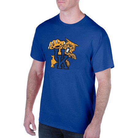 Men's Royal Kentucky Wildcats Interlocking Primary Logo T-Shirt](Kentucky Wildcats Logo)