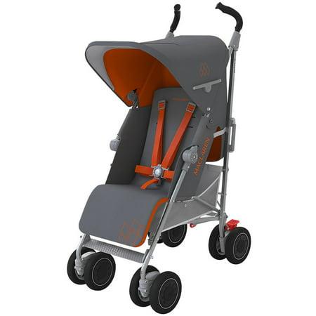 Maclaren Techno XT Stroller, Charcoal/Marmalade ()