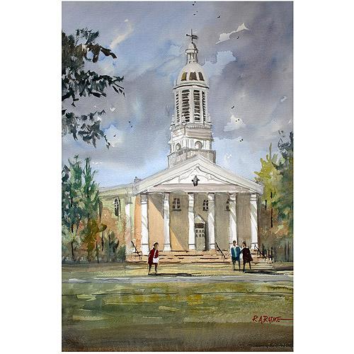 "Trademark Art ""Lawrence Memorial Chapel"" Canvas Art by Ryan Radke"