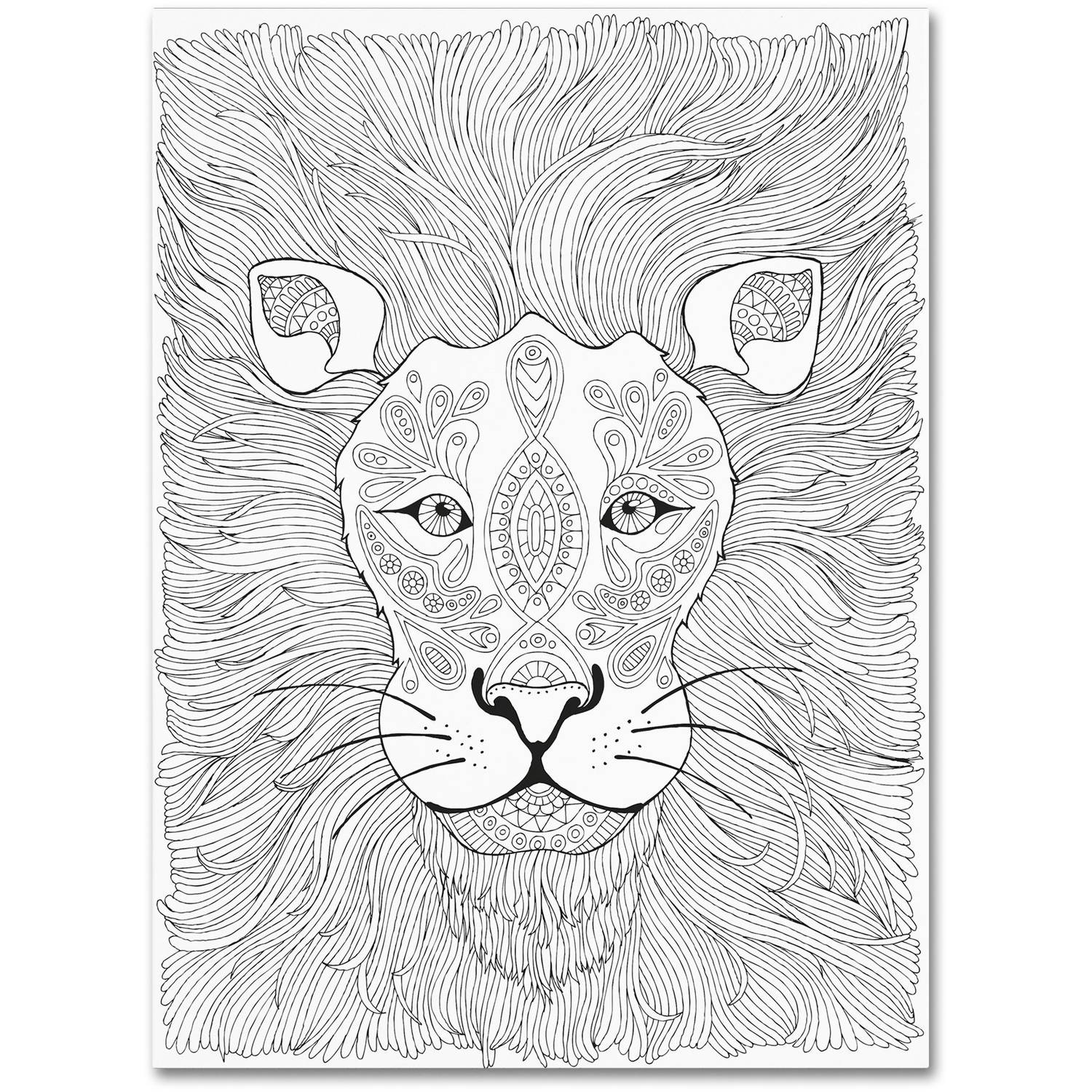 "Trademark Fine Art ""Animals 7"" Canvas Art by Hello Angel"