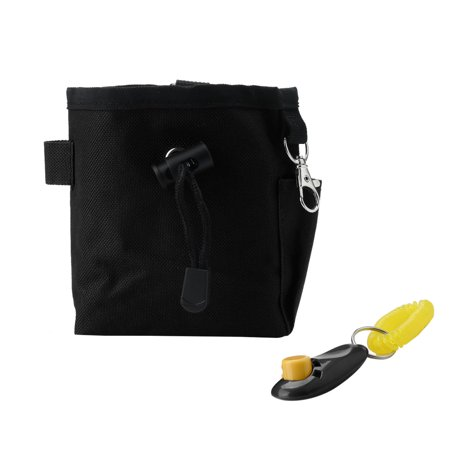 Dog Treat Training Pouch Bag Pet Training with Dog Clicker Toy Holder