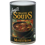 Amy's Kitchen Low Fat Minestrone Soup, 14.1 oz (Pack of 12)