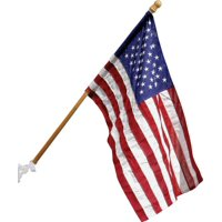 FLAG US SET POLYESTER WD POLE