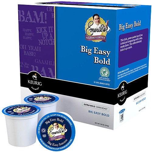 Emeril's Big Easy Bold Coffee K-Cups, 18 count