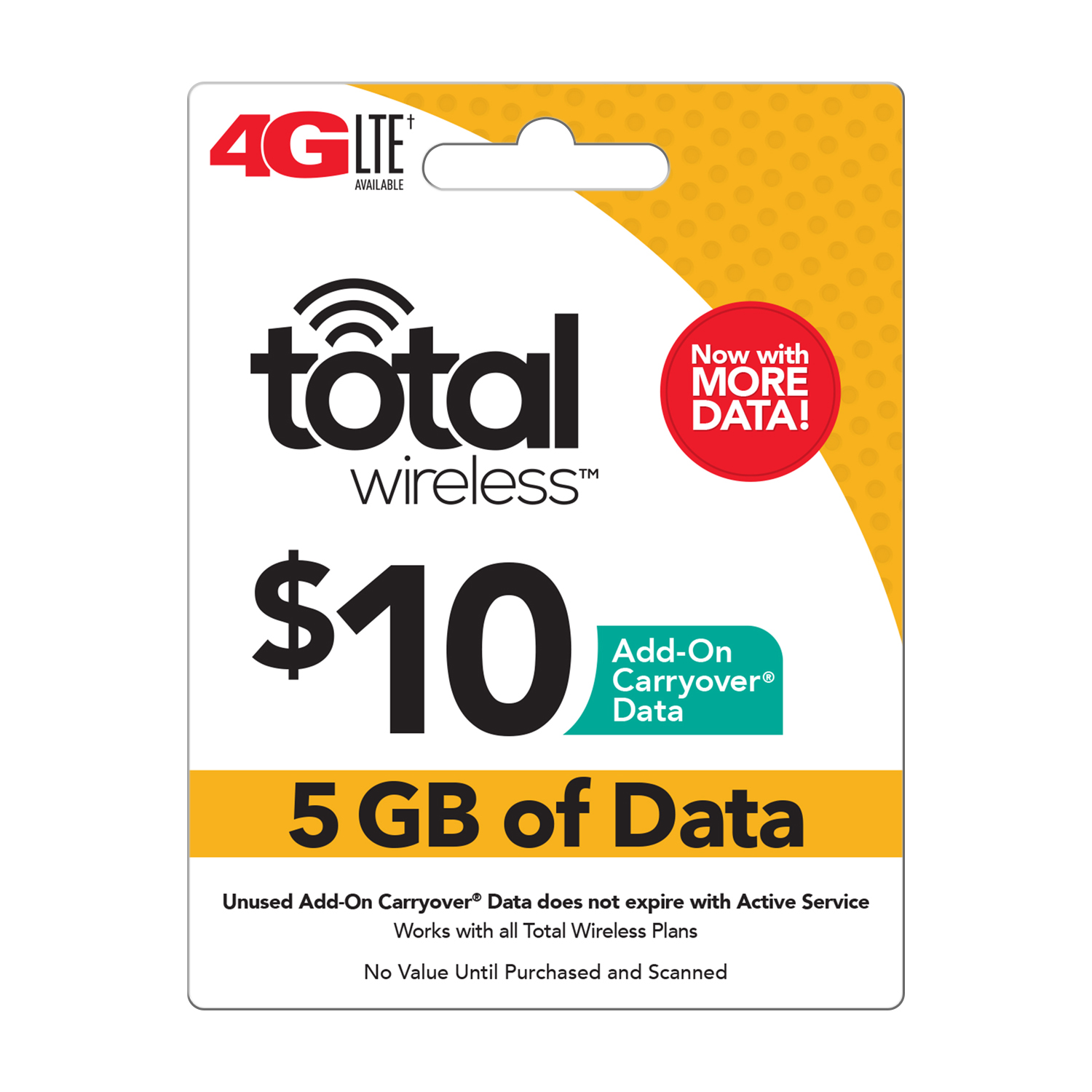 Total Wireless $10 Add-On Carryover Data (Email Delivery)