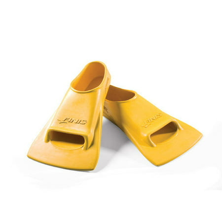 Finis Zoomers Gold Swim Training Fins: Size H, Fits Men's 11.5-13, Women's 12.5-14
