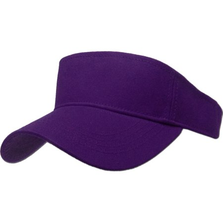 Sun Visor Plain Hat Sports Cap Golf Tennis New Adjustable Men Women -  Walmart.com f78369a403e