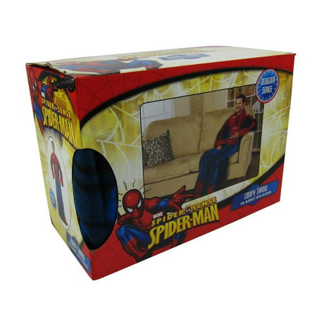 Adult Size Comfy Throw Blanket With Sleeves   Spiderman  Officially Licensed Product By Pacific Northwest Auto Group