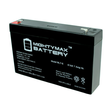 6V 7Ah SLA Replacement Battery for Kid Trax Avigo Quad SG067T1