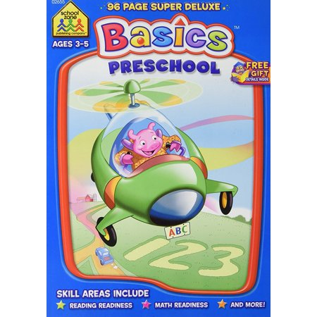 Pre Order Will Ship (Preschool Basics Ages 3-5 Super Deluxe Workbook..., By School Zone Ship from)