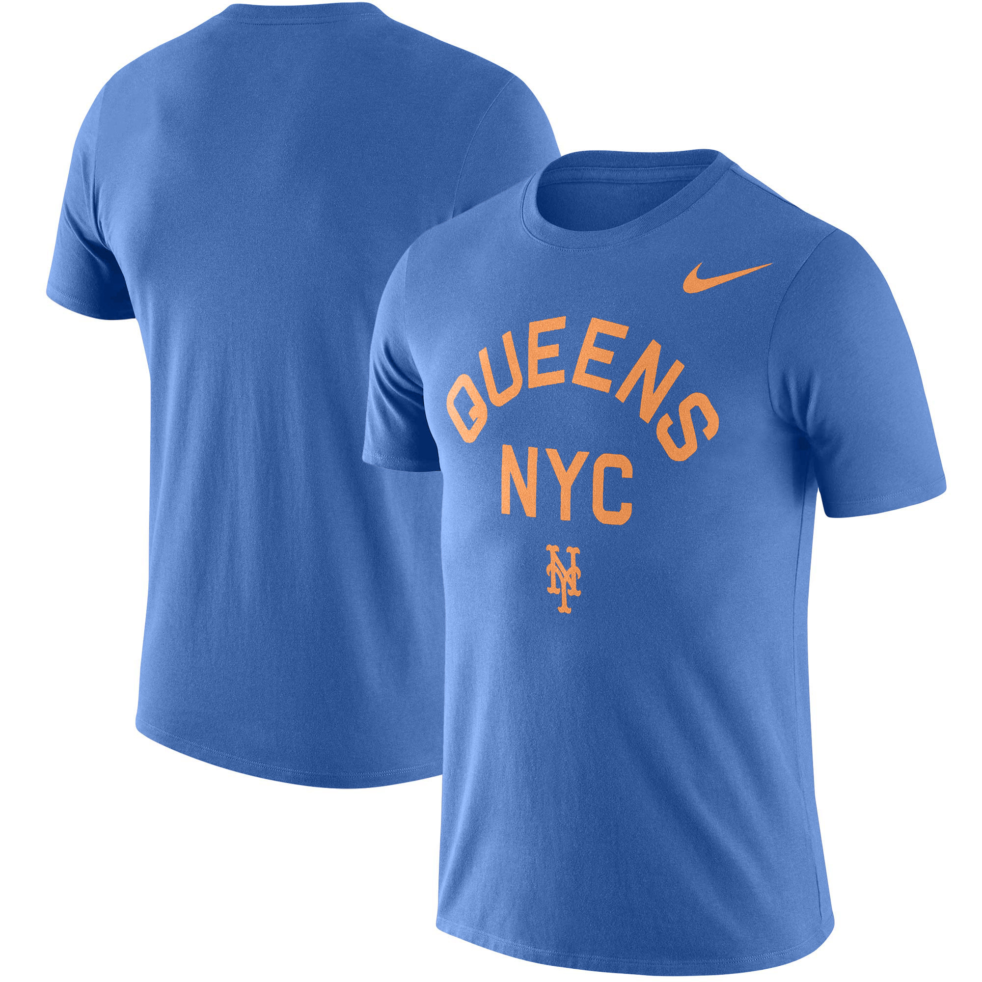 New York Mets Nike Local Phrase Performance T-Shirt - Royal
