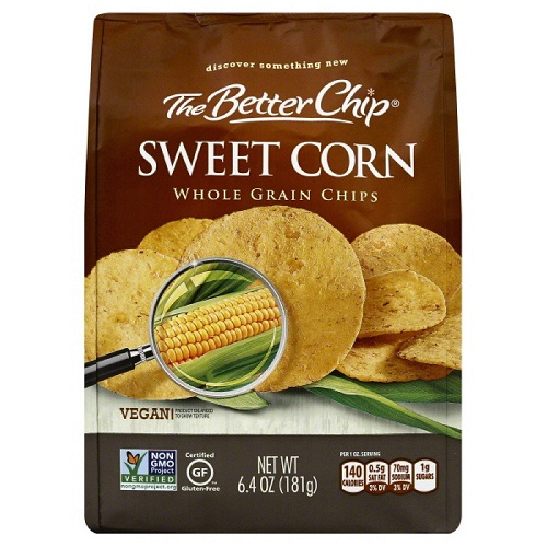 The Better Chip Sweet Corn Whole Grain Chips (27x1.5 OZ)
