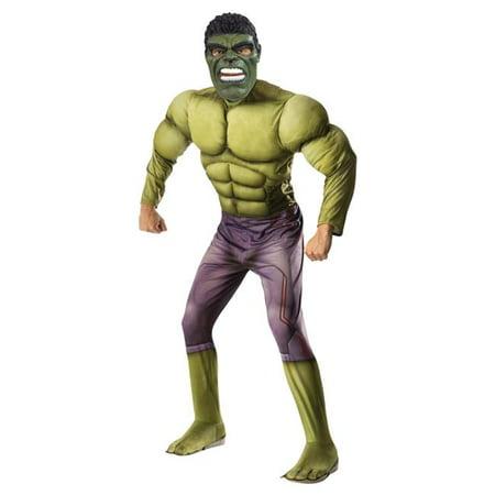 Morris Costumes RU810290 Hulk Muscle Adult Costume
