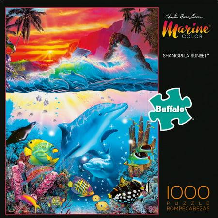 Buffalo Games Marine Color Shangri-La Sunset 1000 Piece ...